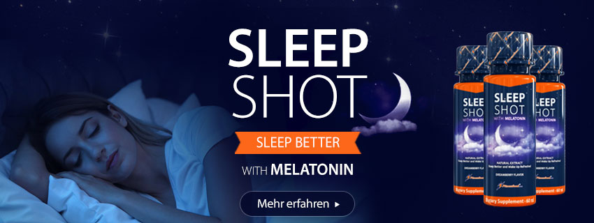 Sleep Shots + Melatonin 24 x 60 ml