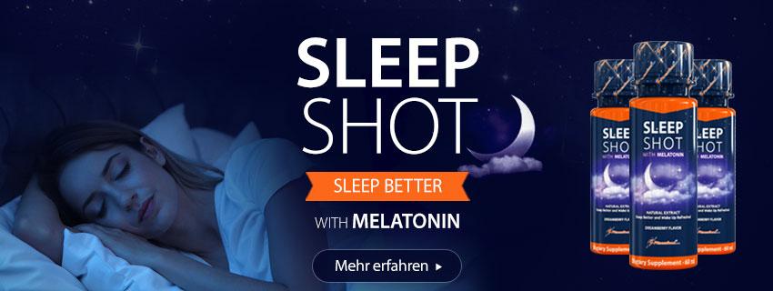 Sleep Shots + Melatonin 24 x 60 ml