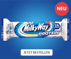 NEU: MilkyWay Protein-Riegel - Jetzt bestellen!
