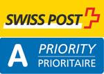 Wir versenden mit Swiss-Post